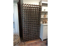 Beautiful antique French wine rack