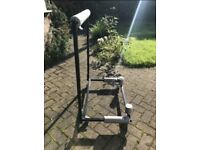 Stand storage trolley for car hardtop roof