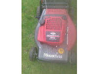 mouthfield mower