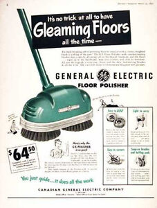 Wanted floor polisher small antique type