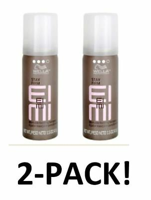 Wella Professional EIMI STAY FIRM Workable Finishing Hairspray 1.5 oz. 2-PACK!