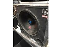 18 inch sky tech sub cabinets with 450 drivers