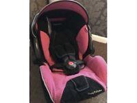 Recaro young profi plus car seat and isofix base