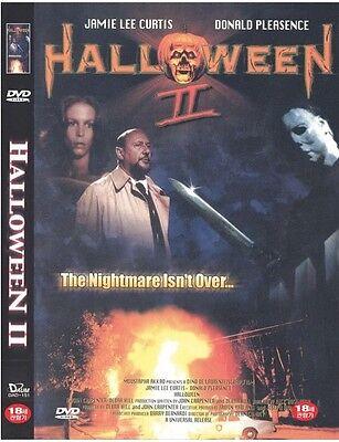 Halloween II (1981) DVD - Jamie Lee Curtis (New & Sealed)
