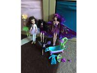 Fairy doll set. Barbie Fairytastic doll. Tinkerbell & friends