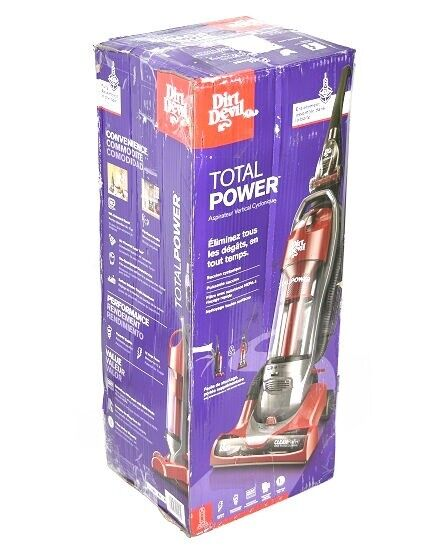 Dirt Devil Total Power Bagless Upright Vacuum Red UD70212