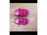 Clarks crazy dot toddler shoes
