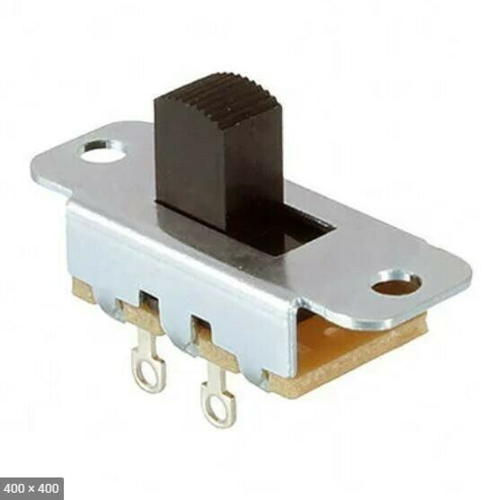 Switchcraft 46202LR SPST Locking Slide Switch On Off 3A 125V On Off 46202LRX
