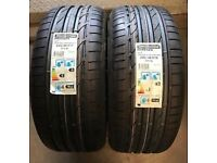 Brand New Bridgestone Potenza 245 40 R18 Run Flat