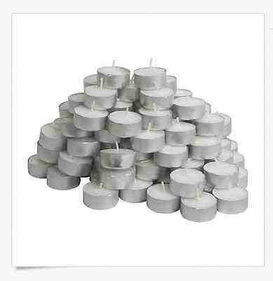10/ 20/ 40/ 50 IKEA tealight unscented candles~ GLIMMA~ FREE -