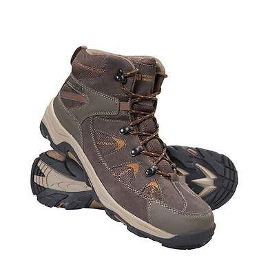 Rapid Mens Waterproof walking Boots Brown/Orange UK 8 EU 42 LN12 12