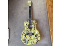 Children's spongebob squarepants guitar