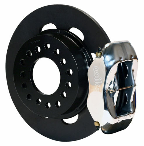 """Wilwood Drag Disc Brake Kit,rear,small Ford,2.66"""",polished Calipers"""