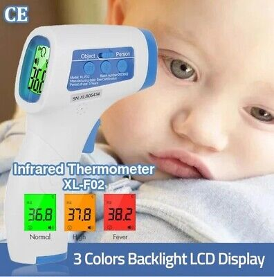 Non-contact Infrared Digital Forehead Thermometer Baby Adult Temperature Gun