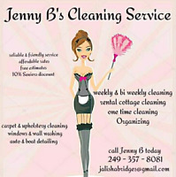 Cleaner available in Peterborough County  20 years expirience!