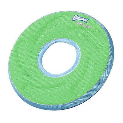 (Chuckit dog Zipflight medium Floating water FLOATS Fetch Toy play fun)