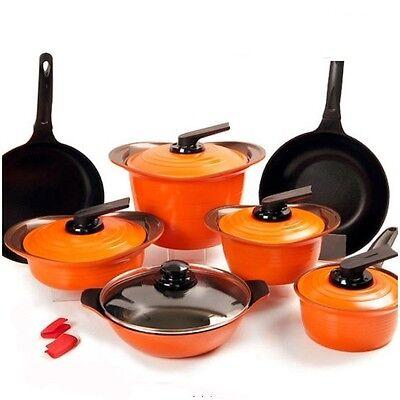 ROICHEN New Preminum Ceramic Nonstick Saucepan,Casserole,fry pan Cookware