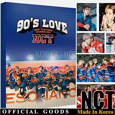 NCT SMTOWN OFFICIAL GOODS 90s Love POSTCARD BOOK SEALED KPOP POST CARD
