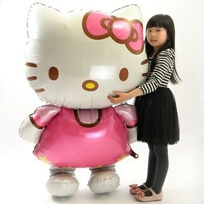 Giant Inflatable Hello Kitty Mylar Balloon 46 inches Birthday Party](Kitty Birthday)