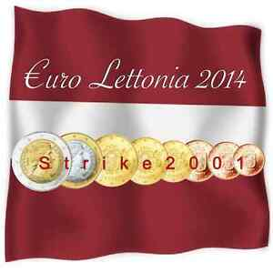 NEW-Euro-LETTONIA-2014-8-PZ-FDC-in-Blister