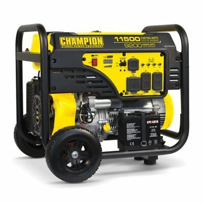 100110- 920011500w Champion Generator Electric Start W 50amp