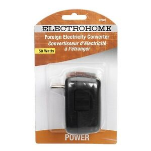 Electrohome 50W Foreign Electricity Converter - EP601