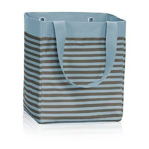 Thirty-One Perfect Stripe Essential Storage Tote