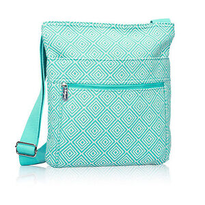 Brand new Thirty One Organizing Shoulder Bag - Turquoise Graphic