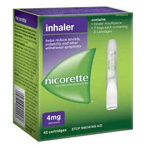 3 Boxes of Nicotine Patches and 1 Box Inhaler *HALF PRICE*