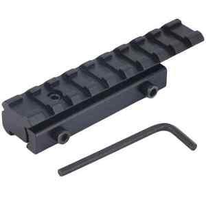 9-11mm Dovetail to 20mm Weaver Picatinny Rail Scope Mount Adapter Converter UK