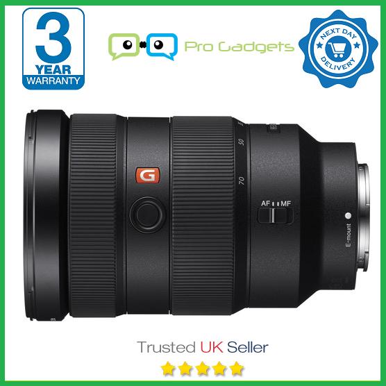 Brand New Sony FE 24-70mm f/2.8 GM G Master Lens - 3 Year Warranty