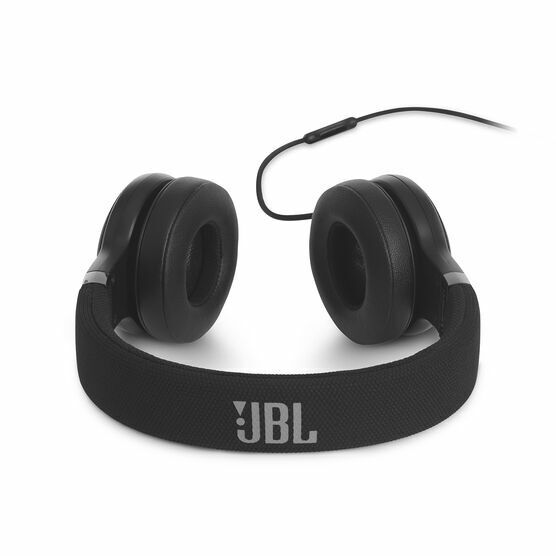JBL E35 On-Ear Wired Headphones With Mic - Black