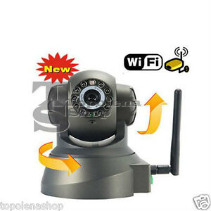 TELECAMERA-IP-CAMERA-CAM-WIRELESS-INFRAROSSO-10-LED-LAN-RJ45-MOTORIZZATA-WIFI