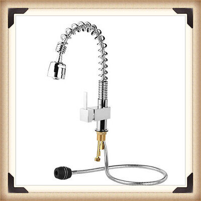 Modern Kitchen Tap Swivel Pull Out Spray Mixer Chrome Brushed Faucet--Brand New.