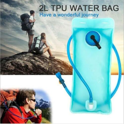2.0L Water Bladder Backpack Hydration System Pack Bag Camping Hiking