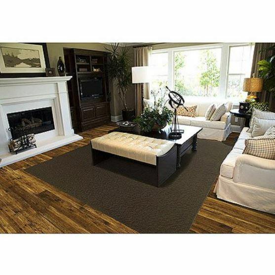 Large Area Rug 8x10 Non Slip Skid Resistant Soft Wood Floori