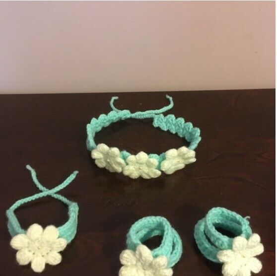 Handmade Crochet Newborn Set