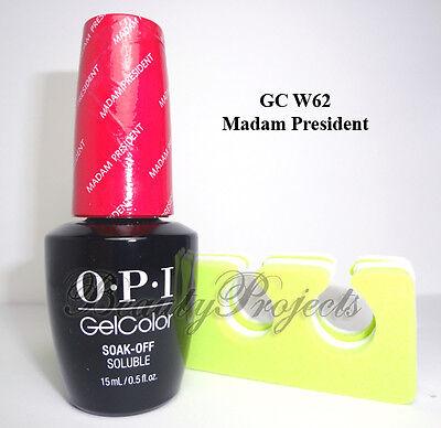 - OPI GelColor Washington DC Madam President GC W62 LED/UV Gel .5oz +free item
