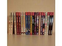 Various Manga novels
