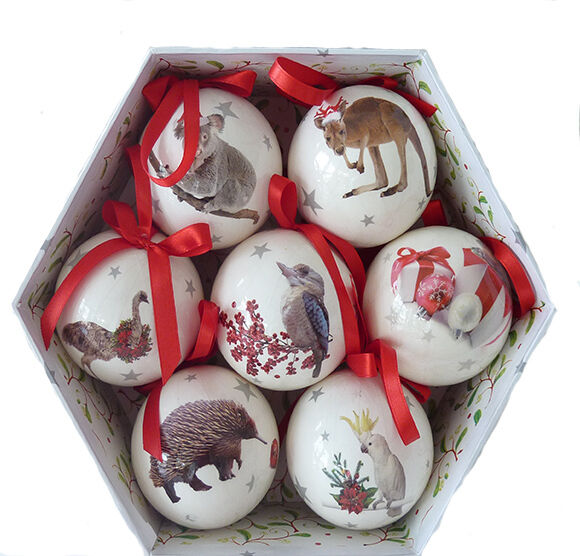Australian christmas souvenir decorations with aussie for Australian decoration ideas
