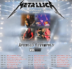 Metallica @ Rogers Centre July 16th, 2017