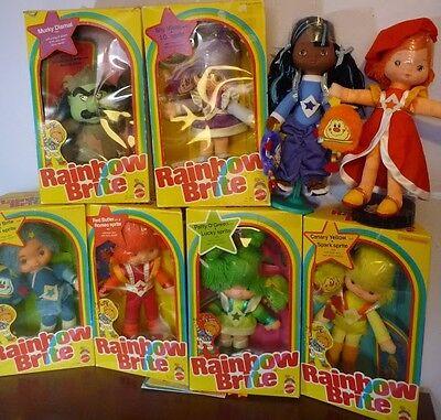 Rainbow Brite Checklist Vintage Dolls Amp Plush Only Ebay