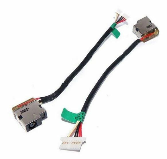 BRAND NEW - HP P/N: 799736-F57 DC Power Jack with Cable for HP 15-AC Series