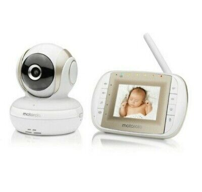 Motorola Video Baby Monitor With Remote Pan Scan MBP30A