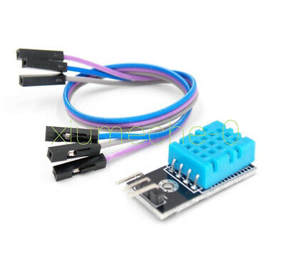 5pcs Dht11 Digital Temperature And Relative Humidity Sensor Module For Arduino
