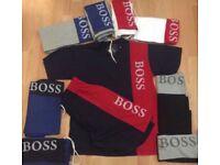 BOSS SHORT T-SHIRT SETS / WHOLESALE