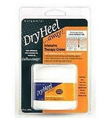 Dry Heel Away Intense Therapy Care, 2 Oz (3 Pack) + Makeup Sponge