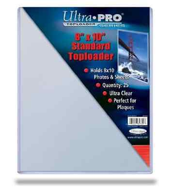 - 100 8x10 ULTRA PRO RIGID TOPLOADERS PHOTO HOLDER SLEEVES 8 x 10 Top Load Holders
