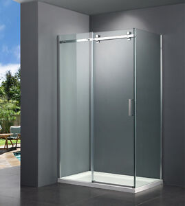 DOUCHE RECTANGULAIRE 36X48 SHOWER DOOR PORTE