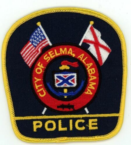 SELMA POLICE ALABAMA AL COLORFUL PATCH SHERIFF GREAT TRADERS